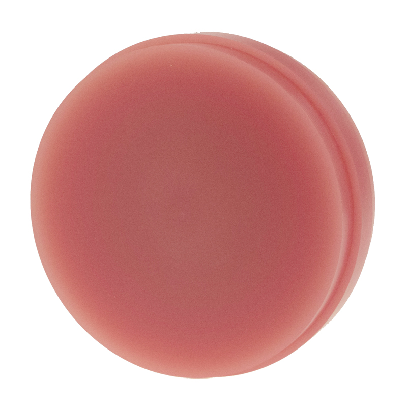 PMMA 98.5mm/20mm/PINKV Veined Pink Blank (Puck -Disc) for Regular/Wiel...