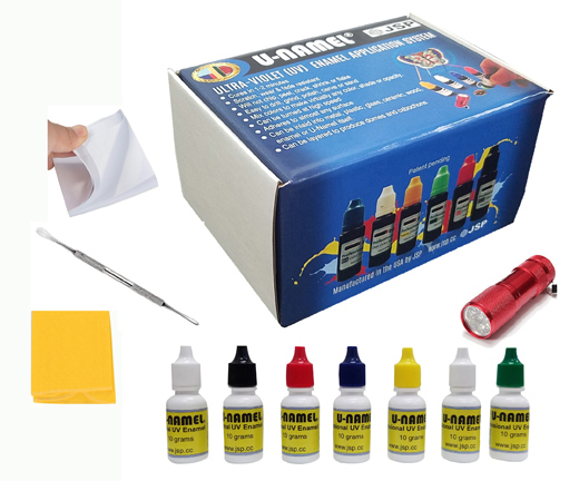 U-NAMEL starter kit, 7 colors + led Deluxe Professional
