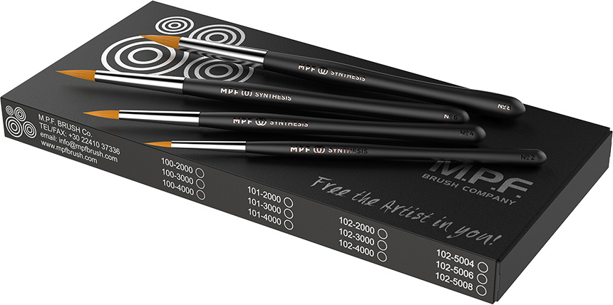 MPF Synthesis™ Brush, 4 in 1 Kit