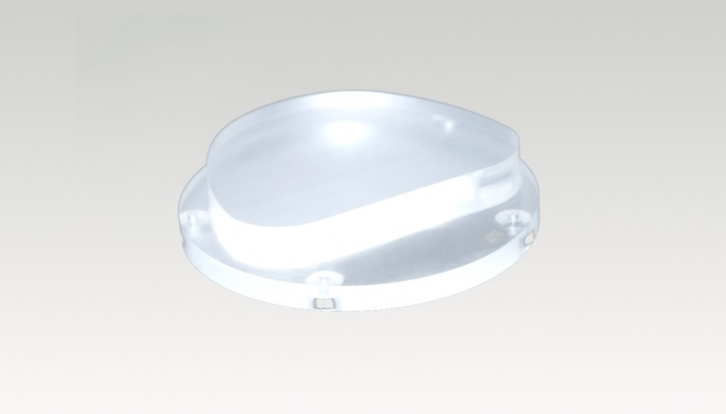 PMMA 101mm/20mm/Clear Castable Blank (Puck -Disc) for Ceramill . ...