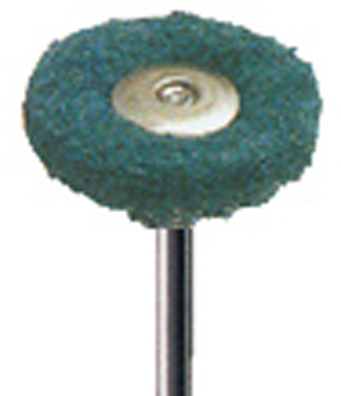 "POLISHING BUFFS/BOBS, MOUNTED ON a 3/32"" (2.3mm) mandrel , sold in packs of 12"