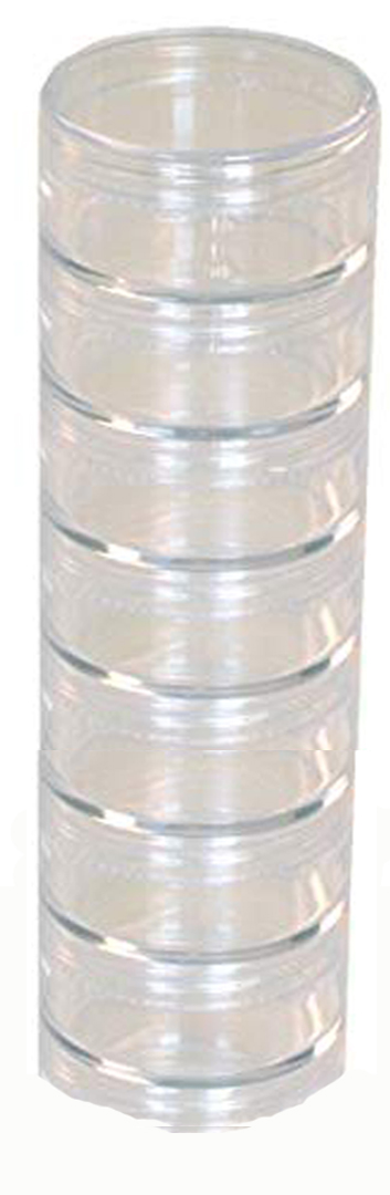 STACKABLE JARS, 40MM SET OF 7