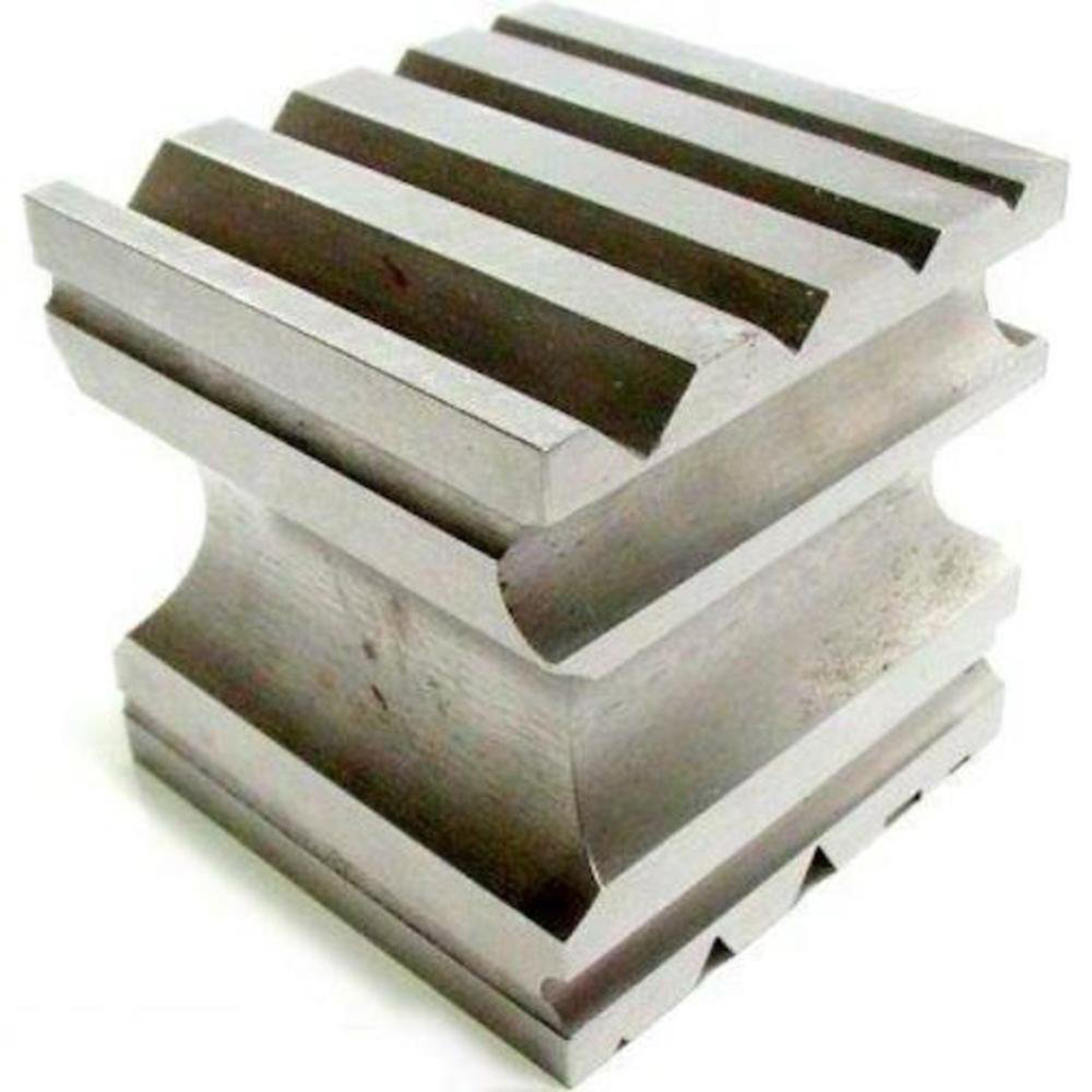 "SWAGE BLOCK, 2.5"" Made of solid steel for bending and shaping"