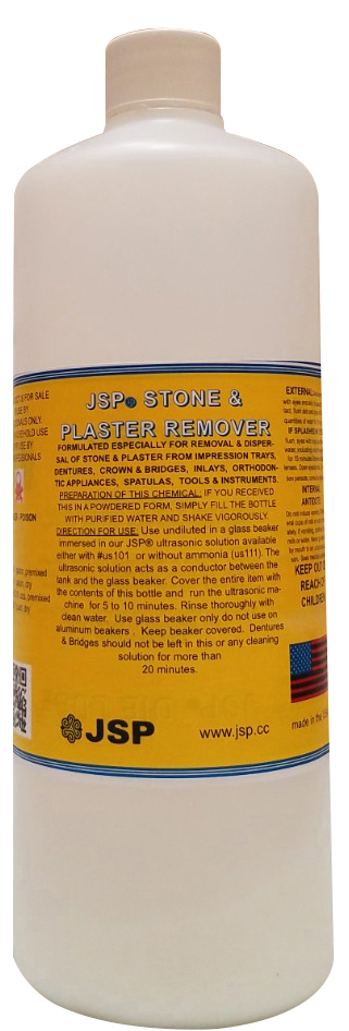 STONE&PLASTER REMOVER,POWDER, makes a QUART - Click Image to Close